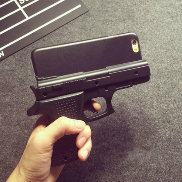 coque pistolet iphone 7 plus | New iphone, New iphone 6, Guns