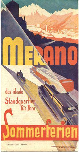 Merano Sommerferien, circa 1934