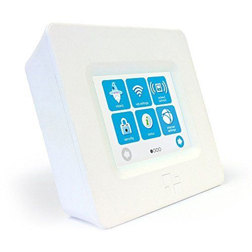 HomeScreen (3 Minute Setup) TouchScreen Dual Band Wireless Router / Range Extender + Home Automation Hub AC750 (802.11ac) #deals