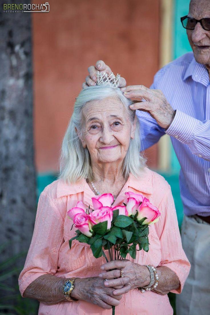 ensaio de casamento de idosos