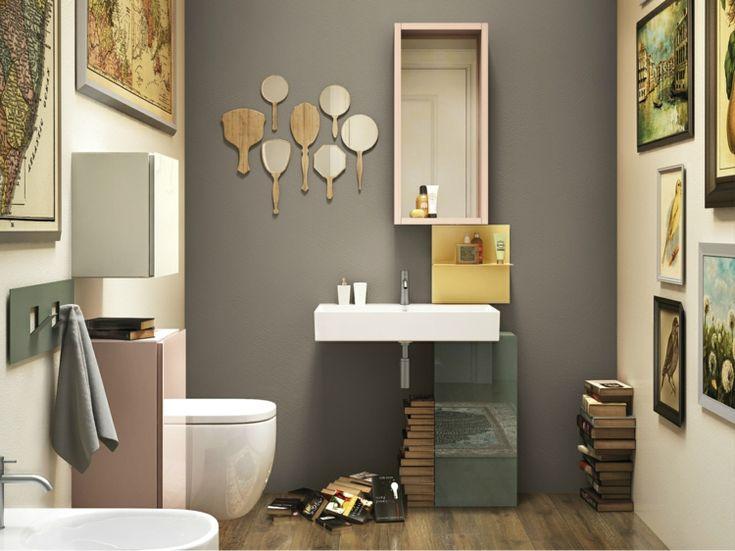 Die besten 25+ klassisches Badezimmer Ideen auf Pinterest - hängeschrank für badezimmer