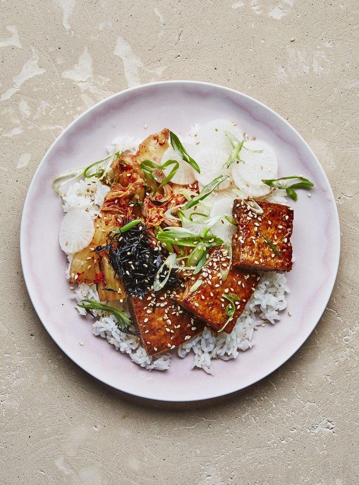 Crispy tofu // Bon Appetit