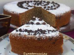 Torta al Cappuccino con Gocce di Cioccolato Morbidissima
