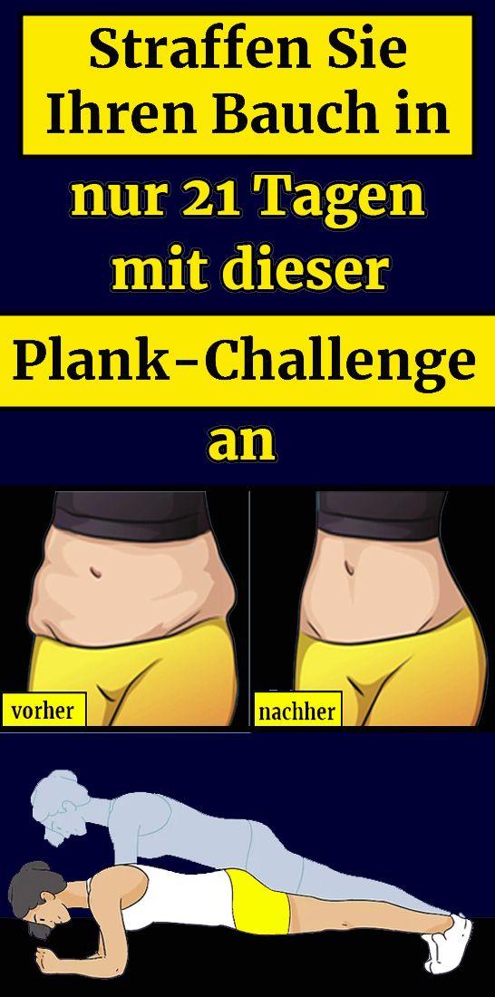 Straffen Sie Ihren Bauch in nur 21 Tagen mit dieser Plank-Challenge an – jule mey