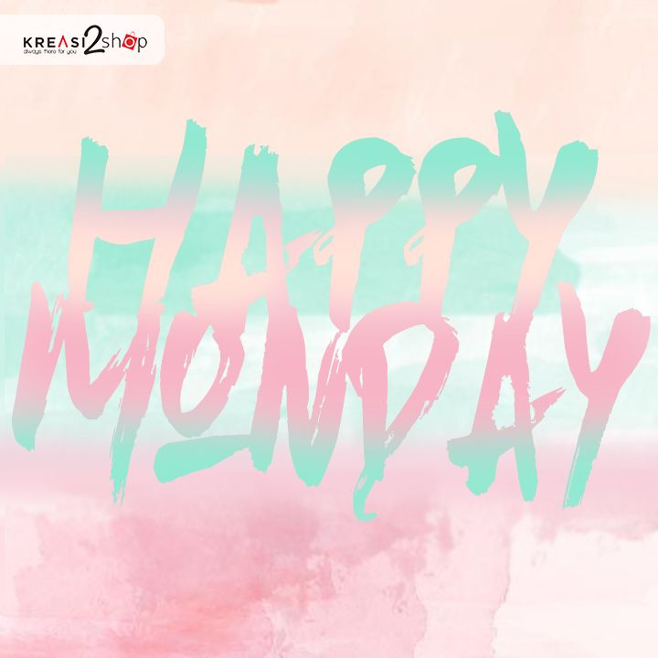 Selamat Hari Senin, Kreasi Lovers! Awali hari pertama di minggu ini dengan penuh sukacita ya. Setiap mood yang ada dalam diri kalian penting untuk diarahkan pada kondisi atau suasana positif karena berpengaruh pada kinerja dan kesehatan tubuh kalian. Selamat beraktivitas dan SEMANGAT ! #kreasi2shop #kreasilovers #monday