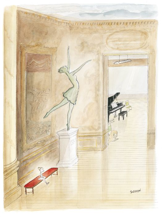 Sempé - Dessin de couverture de The New Yorker (Oct. 24, 2005)