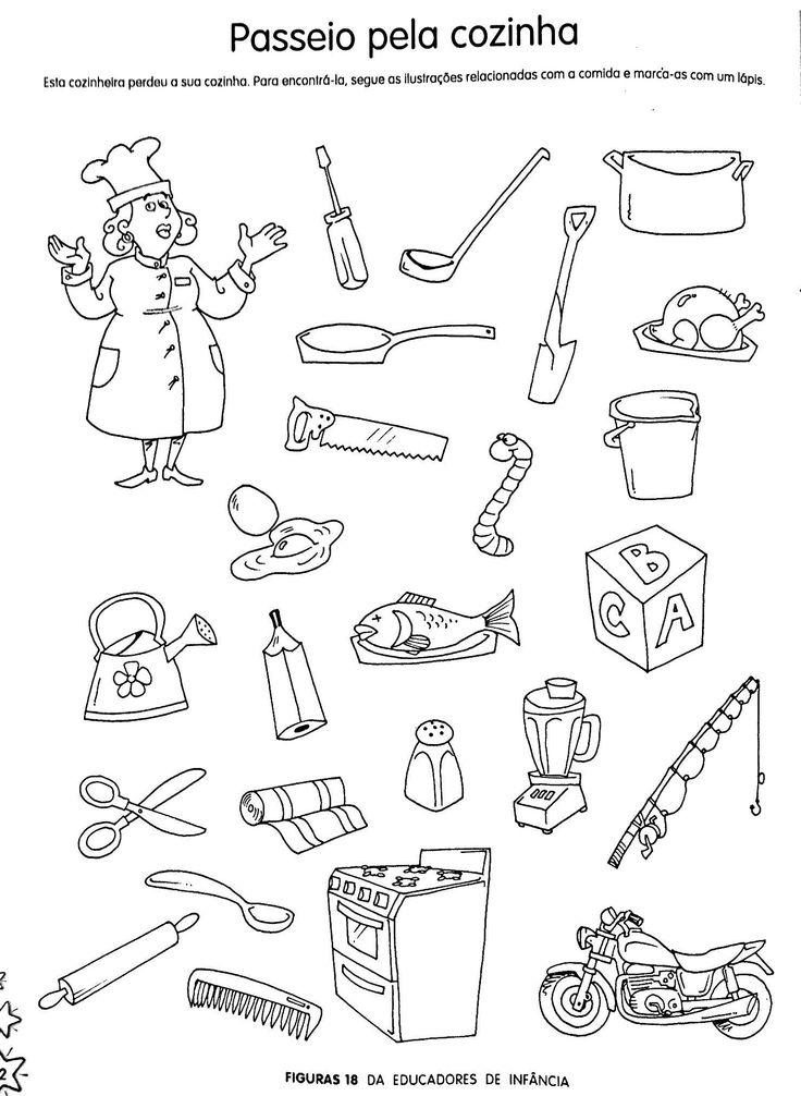 Objetos do Cozinheiro