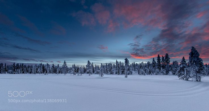 Lapland trip skidoo by fgoodwine