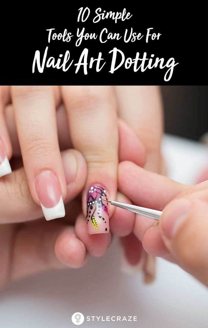 10 Simple Tools You Can Use For Nail Art Dotting With Images