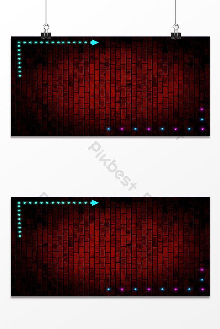 أزياء خلفية الجدار تصميم الأعمال خلفيات Psd تحميل مجاني Pikbest Wall Design Design Background