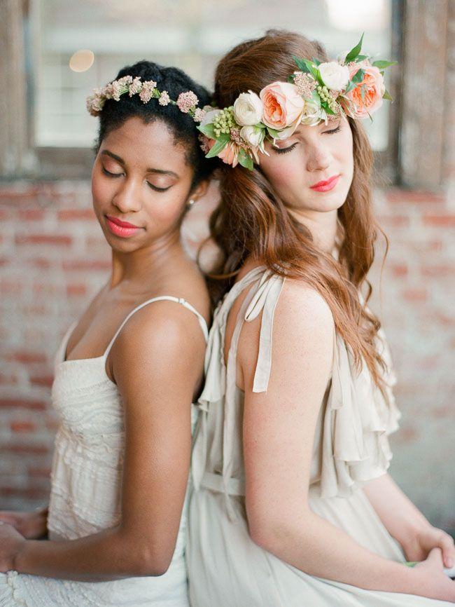 DIY: flower crowns