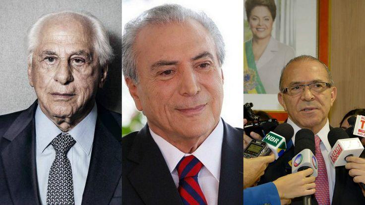 """Temer Caiu: Seu governo foi delatado pelo """"amigo íntimo""""!"""