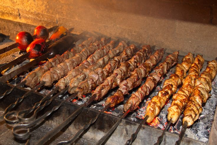 А вы пробовали наши шашлыки ? Мясо, приготовленное на живом огне, удивительно ароматное и сочное.