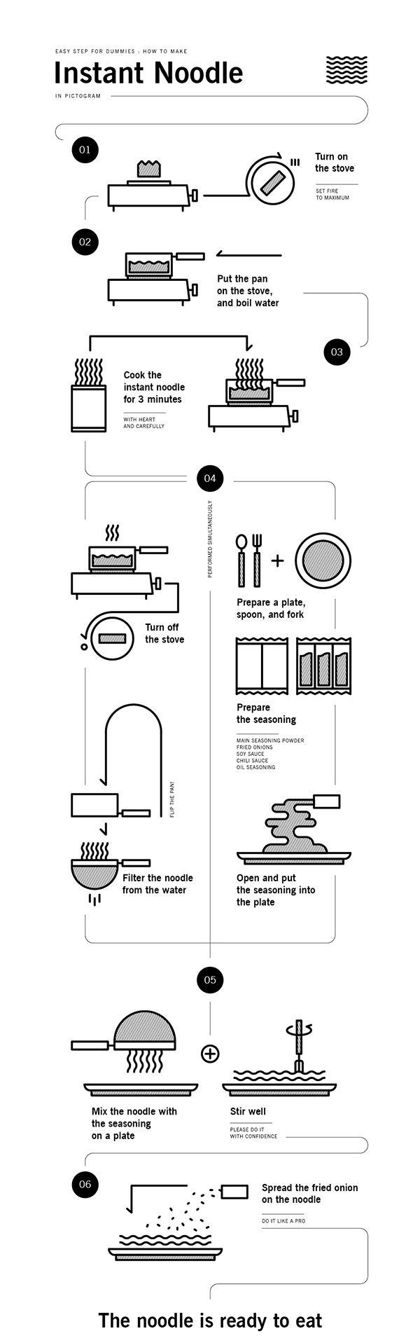 https://www.behance.net/gallery/21494931/Instant-Noodle-for-Dummies?isa0=1