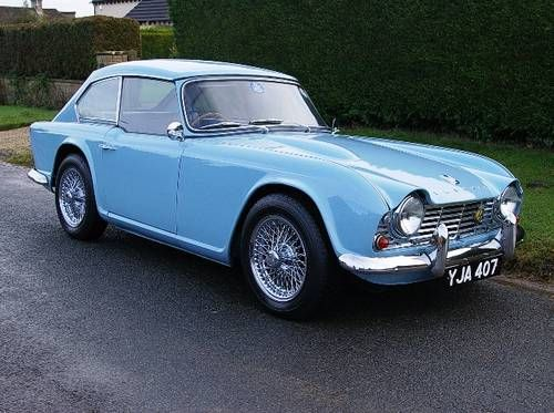1963 Triumph TR4 Dove Maintenance/restoration of old/vintage vehicles: the material for new cogs/casters/gears/pads could be cast polyamide which I (Cast polyamide) can produce. My contact: tatjana.alic@windowslive.com