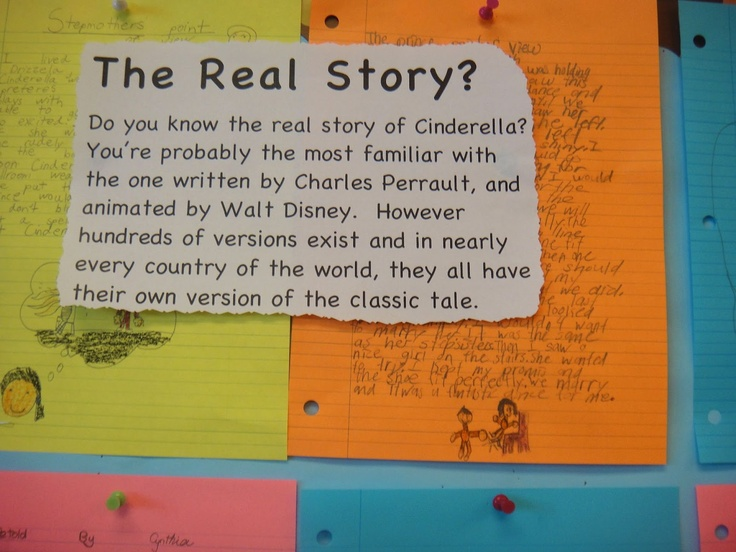 Reading Cinderella stories from around the world