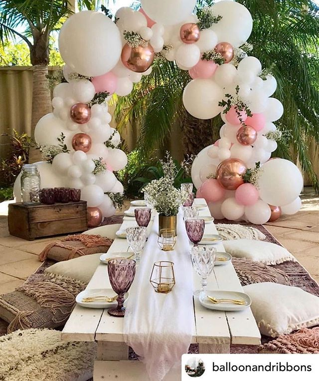 Adoring this dreamy boho chic set up! Posted @withrepost • @balloonandribbons Boho chic for this stylish 25th birthday! By: @frankieandevedesigns @laddersandrose  Florals for Less is the internet's leading provider of fake artificial flowers and greenery for your wedding, baby shower and generic decor needs.  Free worldwide shipping, incredible customer service, hassle free returns. We hope to virtually meet you soon!