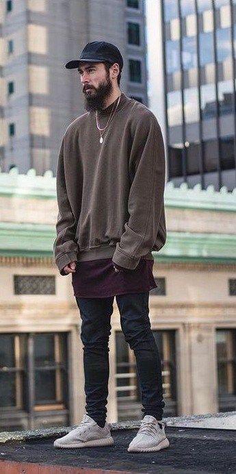 11f9fd8e53de9 15 Beyond Cool Yeezy Style Looks For Men