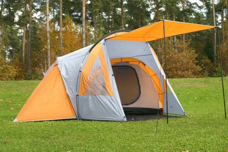 119,99€ 6,8 kg WS 5000!! MONTIS HQ NEVADA DOME, 4 Personen, Premium Camping Zelt, 440x370, 6,8kg, AKTIONSPREIS!: Amazon.de: Sport & Freizeit