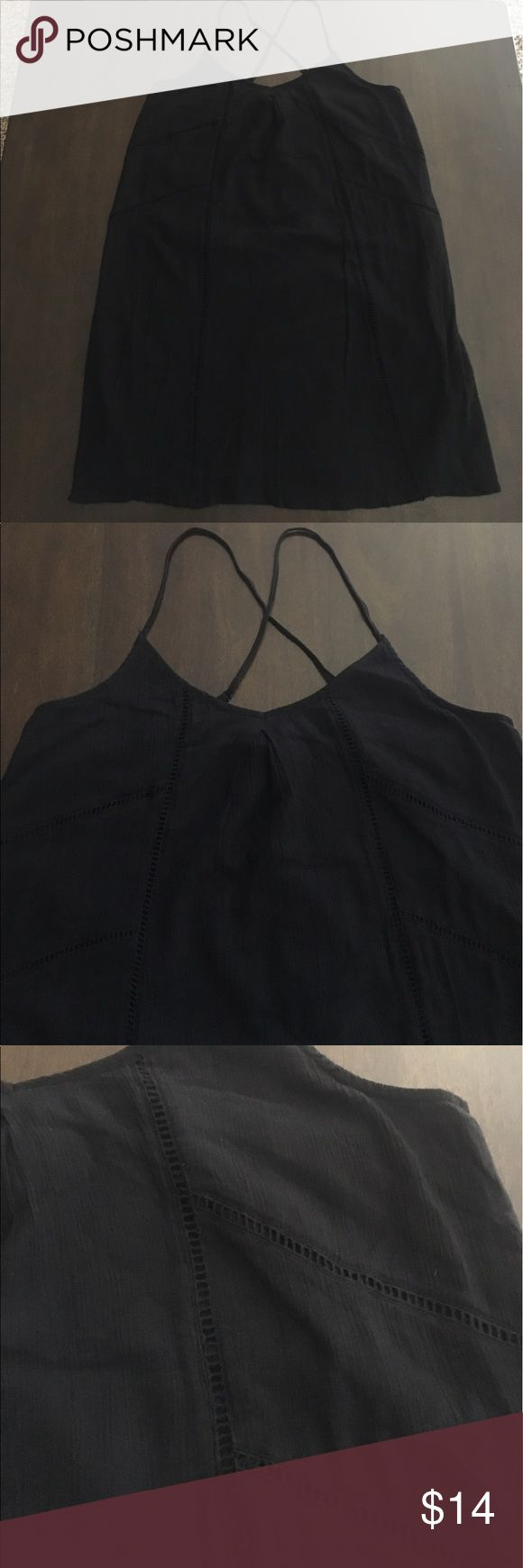 Selling this Old Navy Black Summer Dress on Poshmark! My username is: kris_s61. #shopmycloset #poshmark #fashion #shopping #style #forsale #Old Navy #Dresses & Skirts
