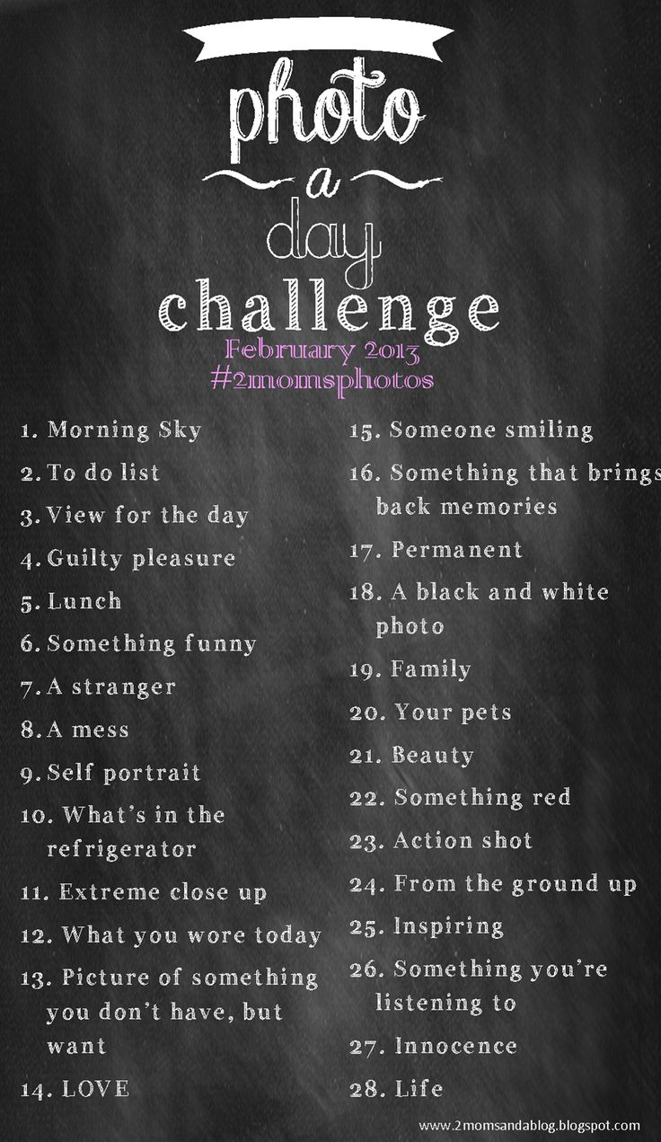 february 2013 photo a day challenge. be creative!