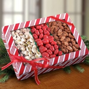 ... cinnamon-drenched almonds to the chocolate-covered dried bing cherries
