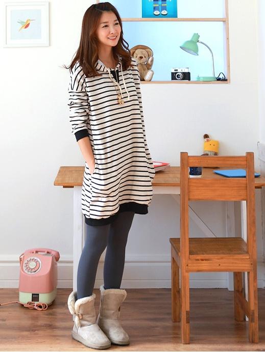 stripes jumper!! see more on thehallyu.com