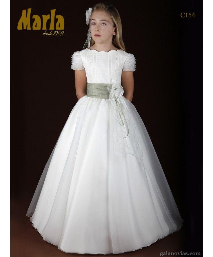 Vestido de Comunión C154