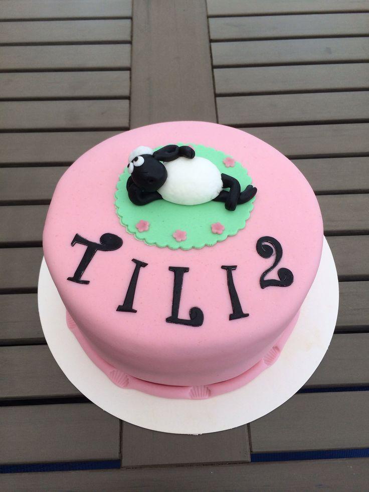 Shaun the sheep cake fåret shaun tårta