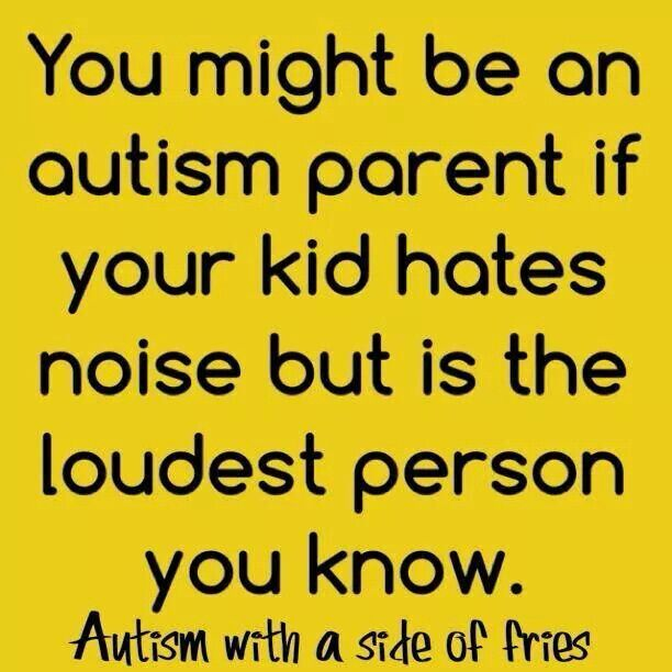 Autism and noise