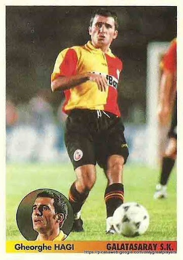 What a freekick master he was! Gheorghe Hagi, Galatasaray
