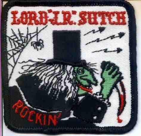 a rare Screaming Lord Sutch patch