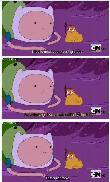 Adventure Time College - That's adorable!