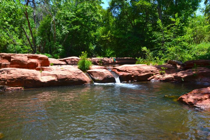 Travel | Arizona | Swimming Holes | Summer Destinations | Places To Visit | Swimming Spots | Rivers | Lakes