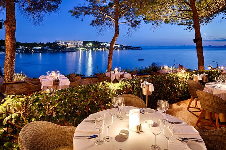 A view to remember at Ithaki Restaurant, Vouliagmeni