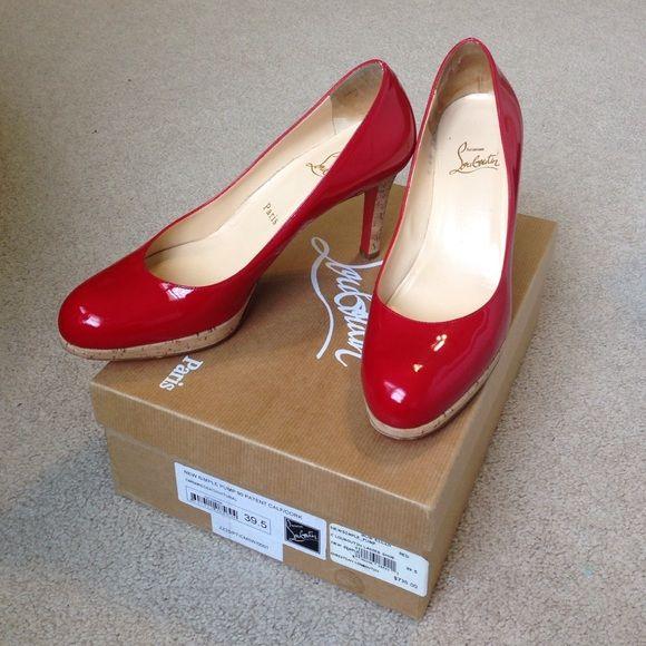 replica louis vuitton mens - Louboutin simple pump 90 size 39.5 ???   | Beautiful Shoes, Pumps ...