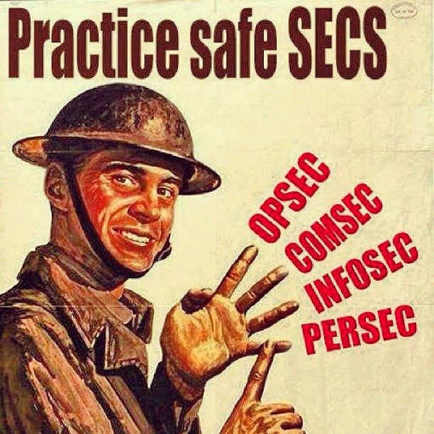 """""""Keep it under wraps!! #comsec #infosec #military #Army # ..."""