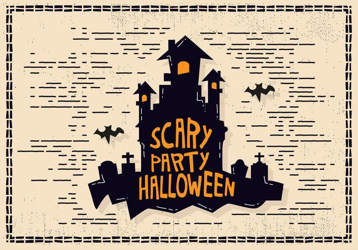 Halloween Castle Illustration