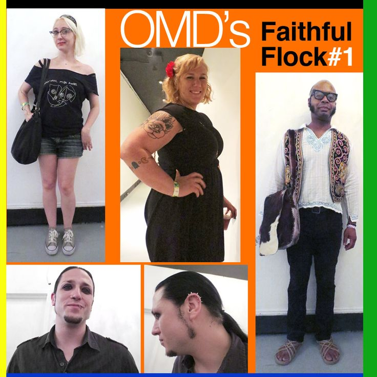 Fans of OMD at the Terminal 5 show in NYC in July 2013.