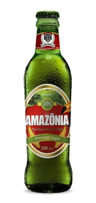 Cerveja puro malte Amazônia chega ao mercado brasileiro