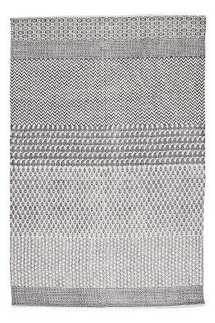 H�ndvevd teppe med trykt m�nster. Av 100% bomull. Vask 40�. Vaskes separat. Str 140x200 cm.<br><br>For �kt sikkerhet og komfort, benytt en antiglimatte som holder teppet p� plass. Antiglimatten finnes i flere ulike st�rrelser her p� Ellos. <br><br>100% bomull<br>Vask 40�