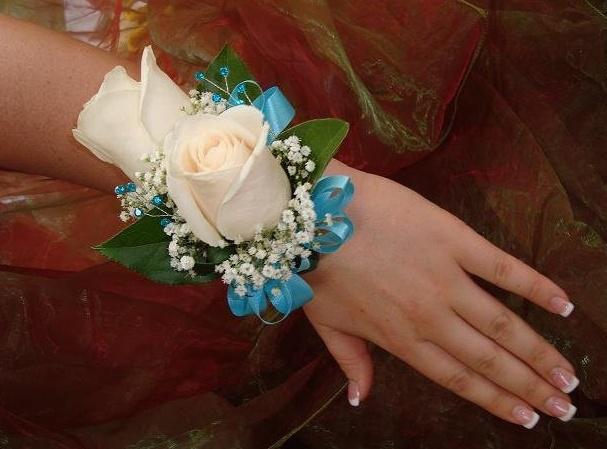 Blue Flower For Prom 19