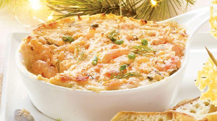 Laissez-vous tenter par cette recette de Trempette chaude piquante aux crevettes