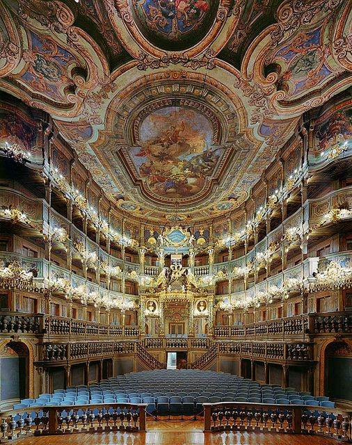 Margravial Opera House, Bayreuth, Germany by VitalySky, via Flickr