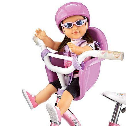 "NB : Bike Seat Set (for 18"" girl dolls' use) #SearsWishlist"