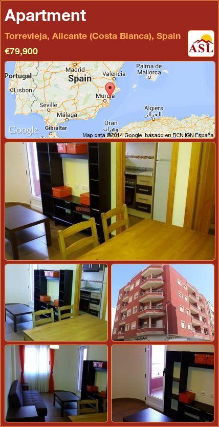 Apartment in Torrevieja, Alicante (Costa Blanca), Spain ►€79,900 #PropertyForSaleInSpain