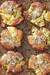 Fried Smashed Potatoes Recipe