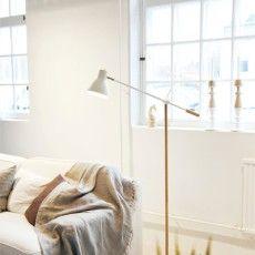 Scandinavian design floor lamp - Tribun