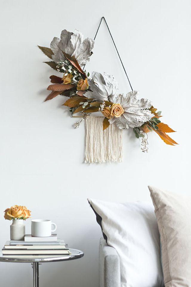 25 Best Ideas About Modern Wreath On Pinterest Holiday