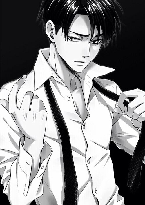 """Levi - """"Come here...I can't stand you being so far from my side..."""" Aaahhhh fuck me, daddy ><"""